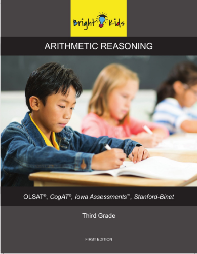 Arithmetic Reasoning Workbook (3rd Grade)