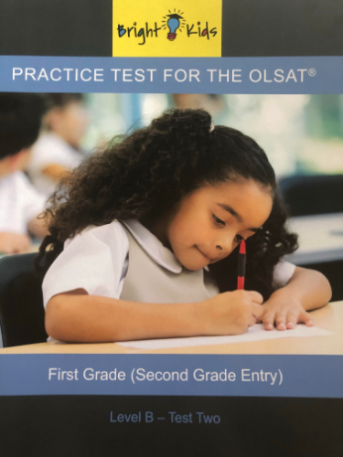 OLSAT Practice Test - Level B / Test Two (2nd Grade Entry)