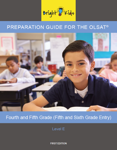 OLSAT Preparation Guide - Level E (5th & 6th Grade Entry)
