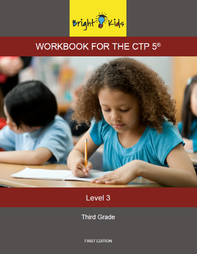 CTP-5 Workbook - Level 3 (3rd Grade)