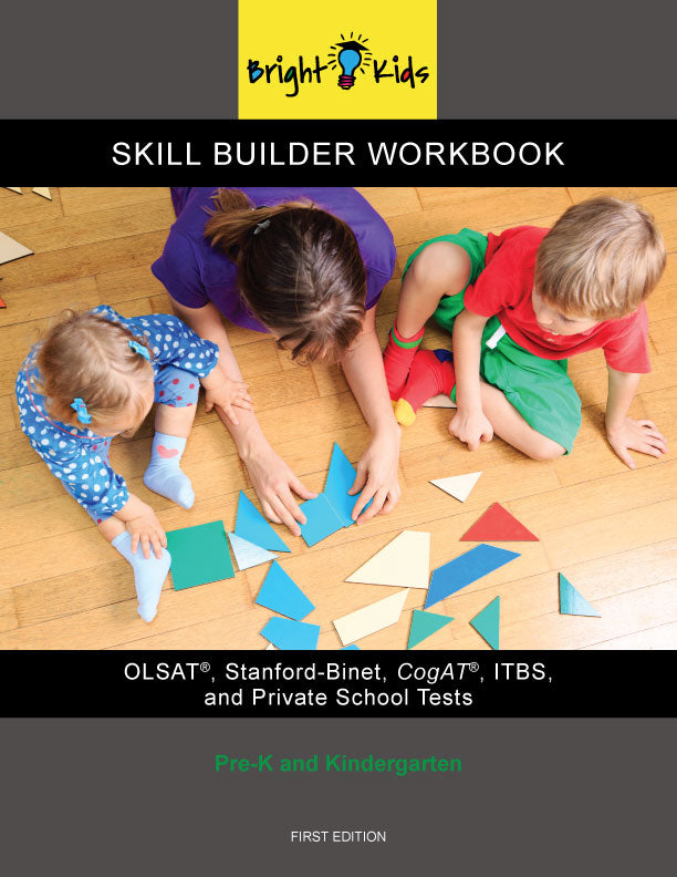 Skill Builder Workbook (Pre-K & Kindergarten)