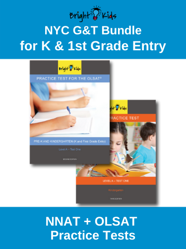 NYC G&T Bundle: NNAT & OLSAT Practice Tests (K & 1st Grade Entry)