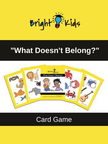 """What Doesn't Belong?"" Card Game (Pre-K & Kindergarten)"
