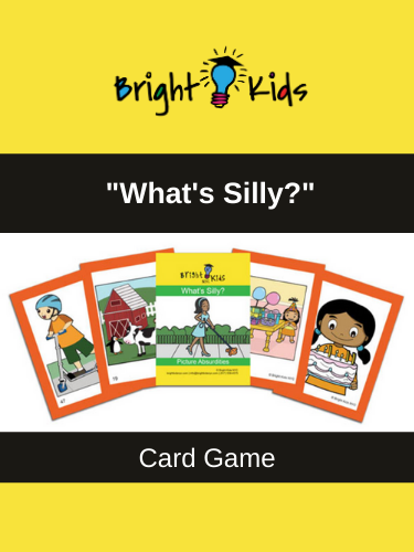 """What's Silly?"" Card Game (Pre-K & Kindergarten)"