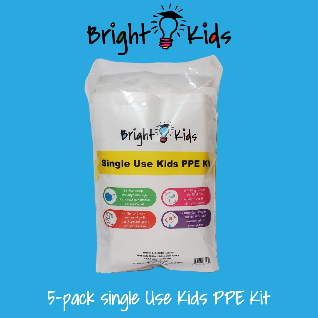 "5-pack kids/youth disposable kits ""TO GO"""