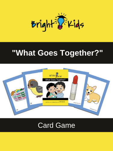 """What Goes Together?"" Card Game (Pre-K & Kindergarten)"