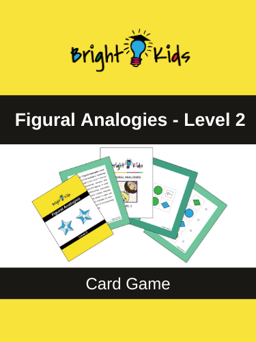 Figural Analogies Card Game - Level 2 (Pre-K - 1st Grade)