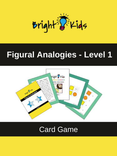 Figural Analogies Card Game – Level 1 (Pre-K & Kindergarten)
