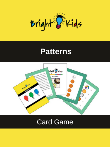 """Patterns"" Card Game (Pre-K & Kindergarten)"