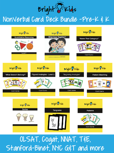 Ultimate Nonverbal Card Deck Collection for Pre-K and Kindergarten