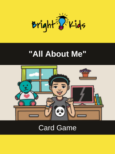 """All About Me"" Card Game (Pre-K & Kindergarten)"