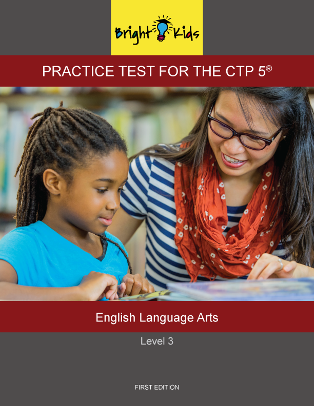 CTP-5 Level 3 English Language Arts Practice Test