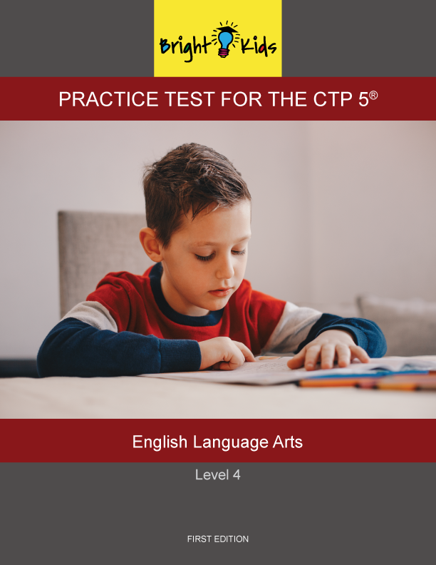 CTP-5 Level 4 English Language Arts Practice Test