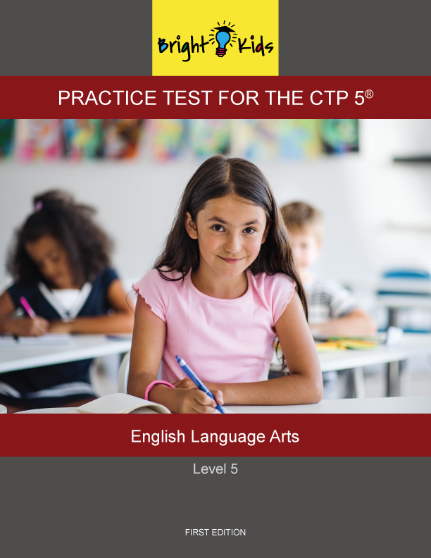 CTP-5 Level 5 English Language Arts Practice Test