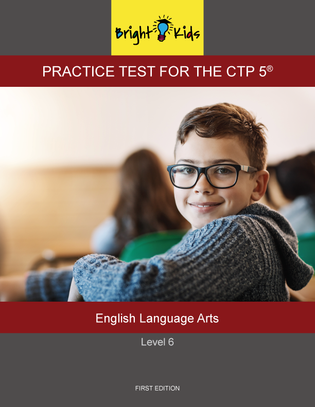 CTP-5 Level 6 English Language Arts Practice Test