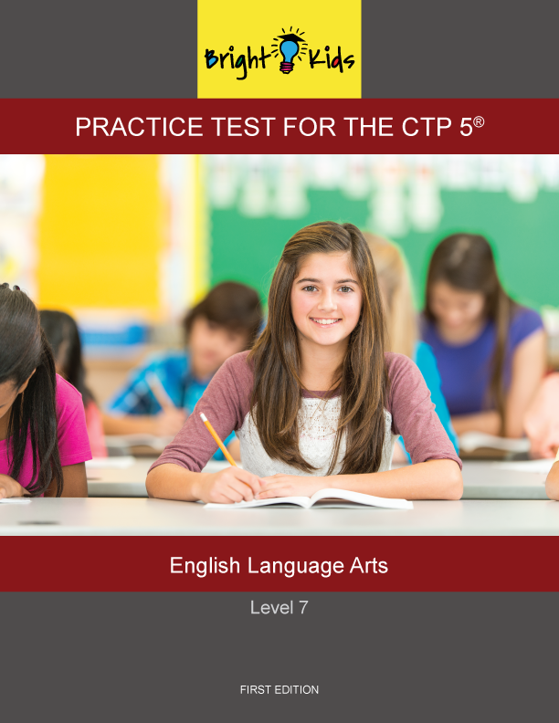 CTP-5 Level 7 English Language Arts Practice Test