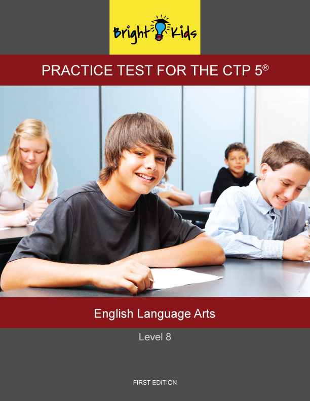 CTP-5 Level 8 English Language Arts Practice Test