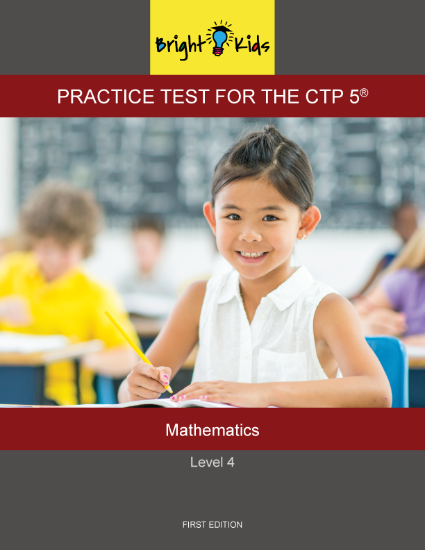 CTP-5 Level 4 Mathematics Practice Test