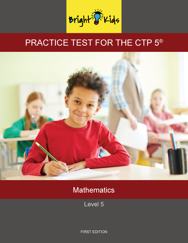 CTP-5 Level 5 Mathematics Practice Test