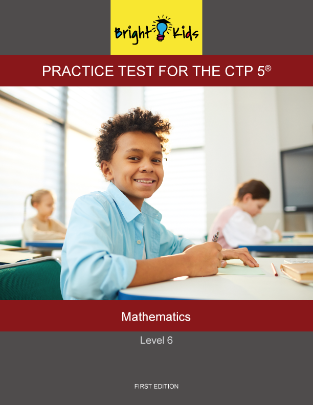CTP-5 Level 6 Mathematics Practice Test