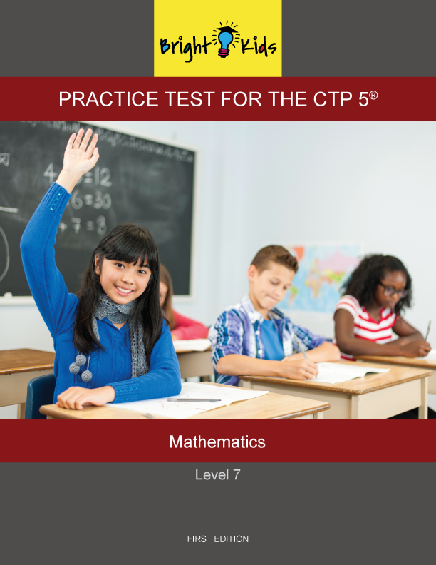 CTP-5 Level 7 Mathematics Practice Test