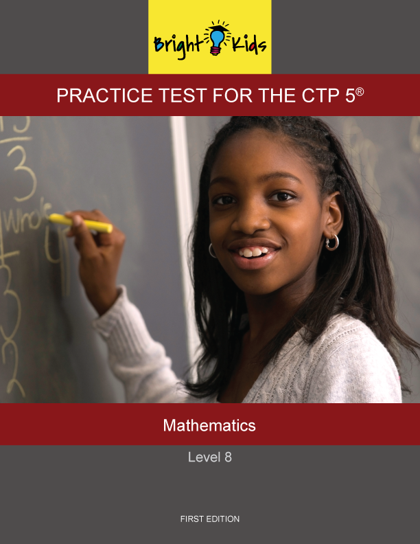 CTP-5 Level 8 Mathematics Practice Test