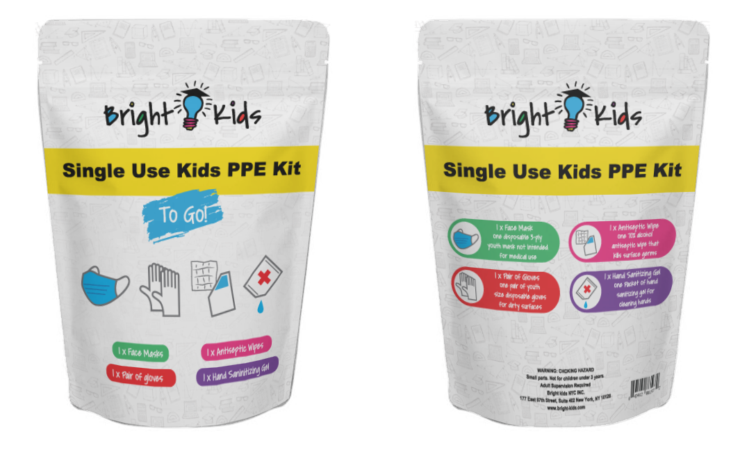 "SINGLE-PACK Disposable Kids Kit ""TO GO"""