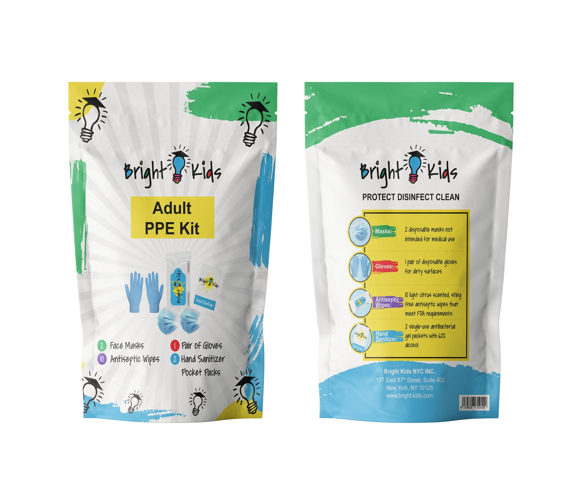 PPE Kids and Adult Kits