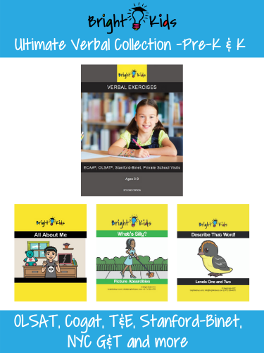 Ultimate Verbal Collection - Pre-K and Kindergarten