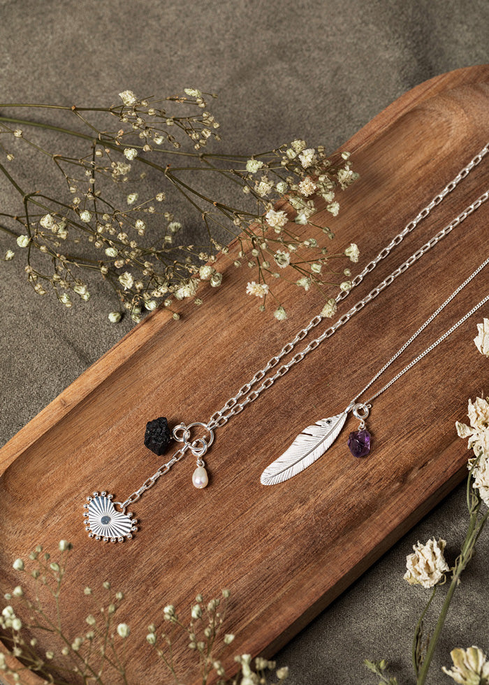 Collier Patsy Argent.