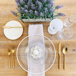Clear Dinnerware