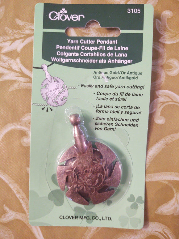 Yarn Cutter Pendant.