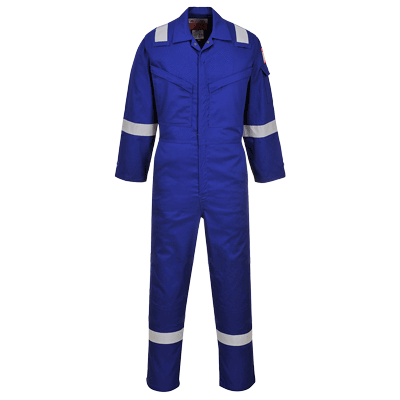 Portwest AF73 Araflame Silver Coverall