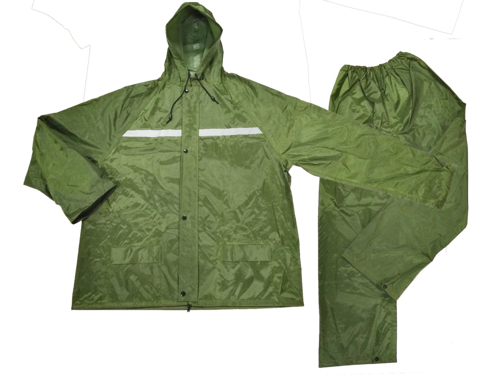 Hulk HK3402 HULK RAIN COAT (ARMY GREEN)