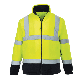 Portwest F301 Hi-Vis Two Tone Fleece
