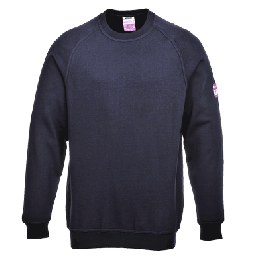 Portwest FR12 Flame Resistant Anti-Static Long Sleeve Sweatshirt
