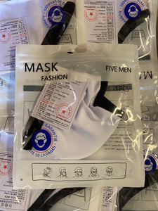3D Cotton Mask (2 layer ) with Adjustable Earloop
