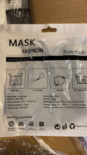 Load image into Gallery viewer, 3D Cotton Mask (2 layer ) with Adjustable Earloop