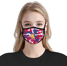 Load image into Gallery viewer, Custom Printed Masks No Filter(Dye-Sublimated)