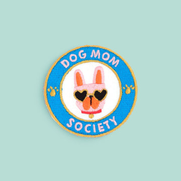 Dog Mom Society Iron-on Patch