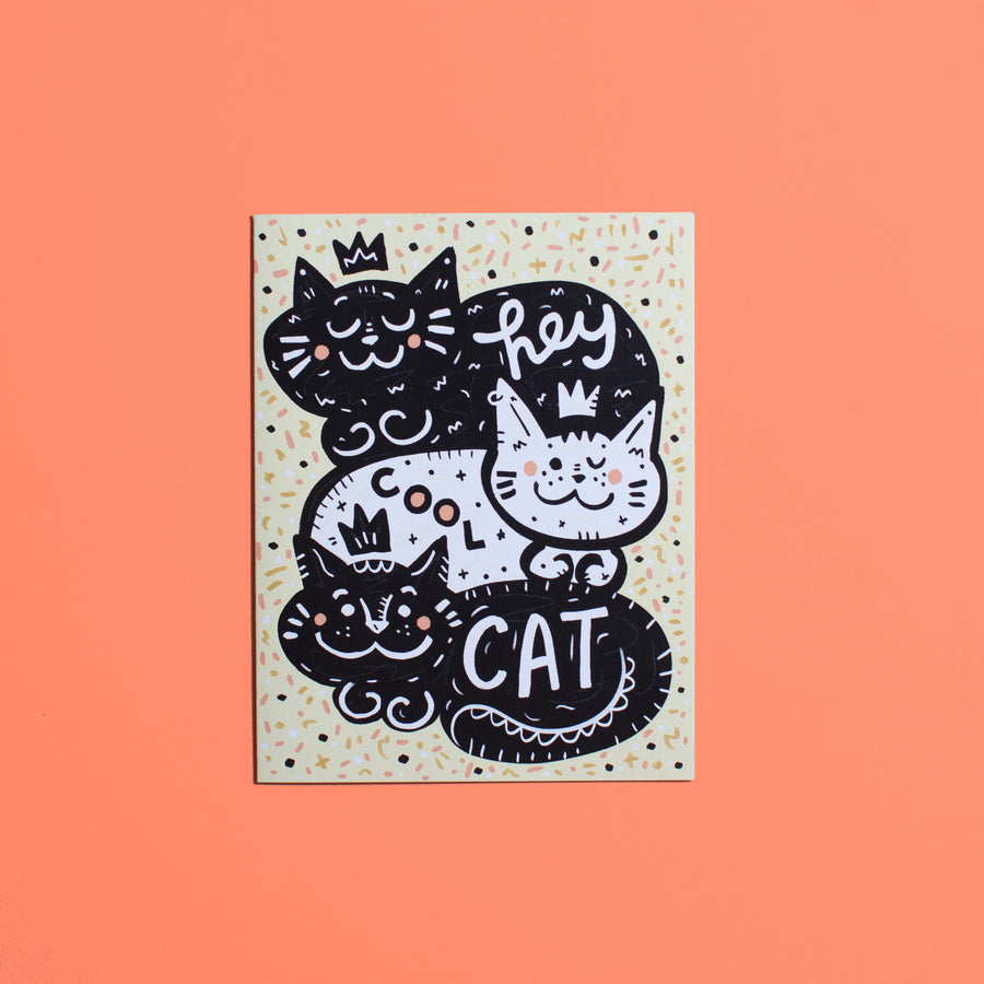 Hey Cool Cat! Card