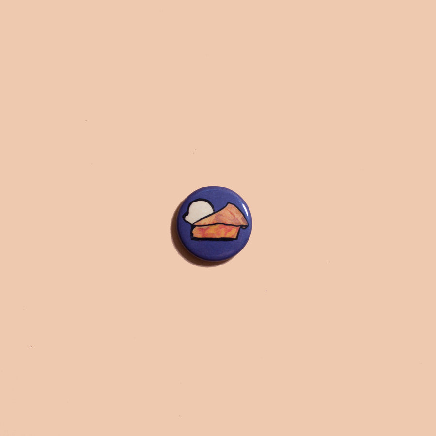 Peach Pie Button