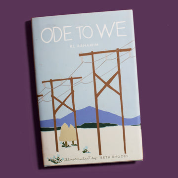 Ode to We Poetry Book