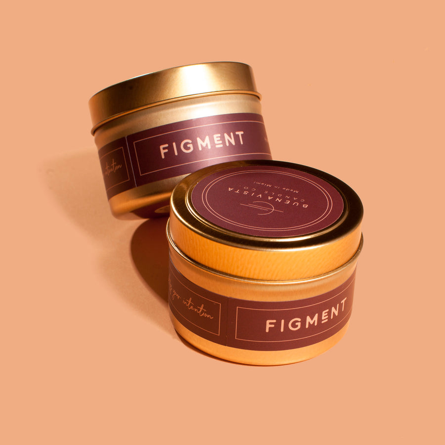 Figment Gold Tin Candle