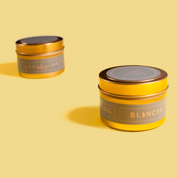 Blanche Gold Tin Candle