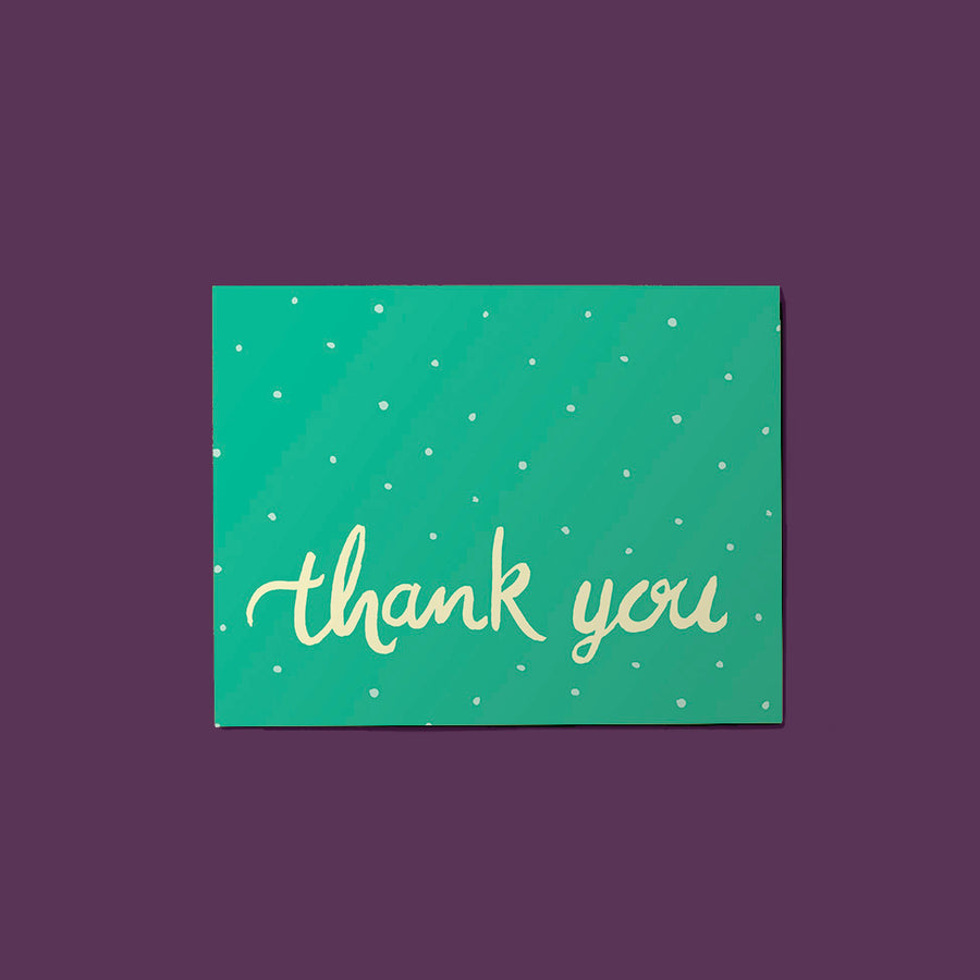 Thank You Dots Card