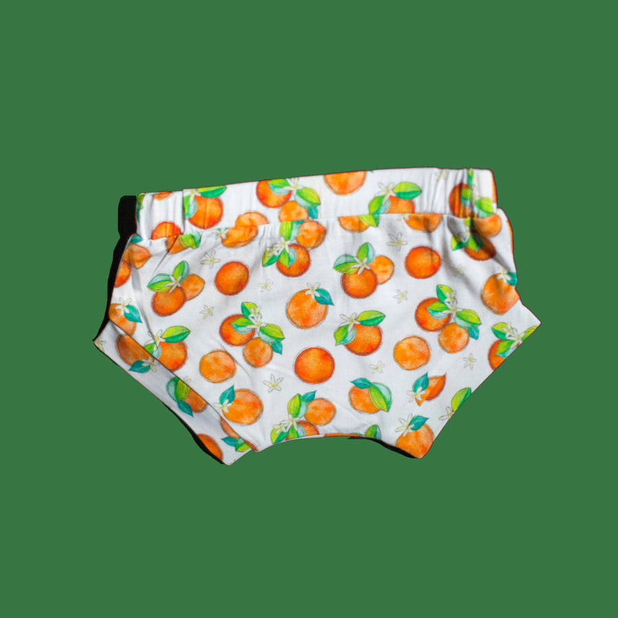 Orange Blossom Bamboo Shorts