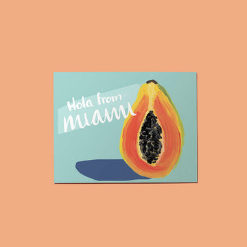 Hola from Papaya Card