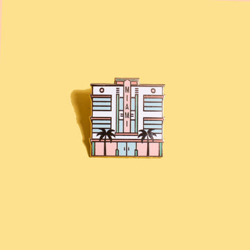 Miami Art Deco Building Pin