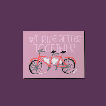 Bike (for two!) Card